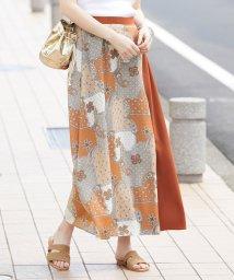 ROPE' mademoiselle/バンダナプリントパネルスカート/502000196