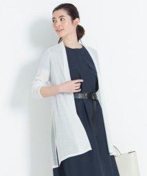 JIYU-KU(LARGE SIZE)/【新色追加】ラメパルサー ロング丈カーディガン(検索番号H48)/502001627