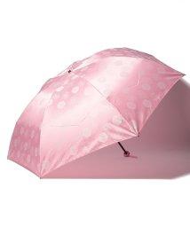 LANVIN Collection(umbrella)/LANVIN COLLECTION 婦人 ミニ傘 【大寸】 カチオンジャガード バラ/501913211