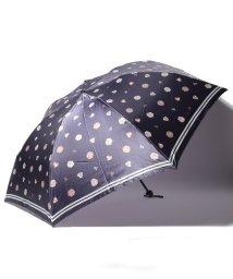 LANVIN Collection(umbrella)/LANVIN COLLECTION 婦人 ミニ傘 【大寸】 ツイル サテン/501913213