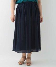 eur3/【大きいサイズ】ギャザースカート/501979437