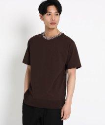 THE SHOP TK/【WEB限定】ラインリブTシャツ/502003494