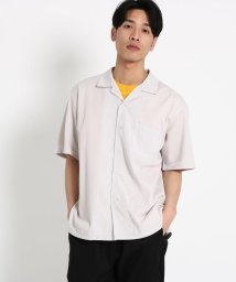THE SHOP TK/【WEB限定】ビッグシルエットレーヨン開襟シャツ/オープンカラーシャツ/502003498