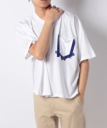 DISCOVERED/【一部カラーマガシーク別注】Pocket print tee/501525032