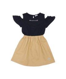ALGY/肩あきドッキングワンピース/501588845