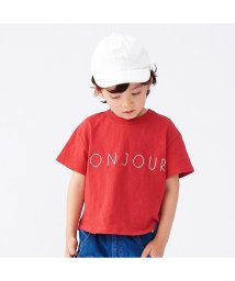 apres les cours/ボンジュール刺繍半袖Tシャツ/501589775