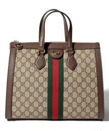 GUCCI/【GUCCI】2WAYハンドバッグ / OPHIDIA 【BEIGE/EBONY+BE.RED】/501985636