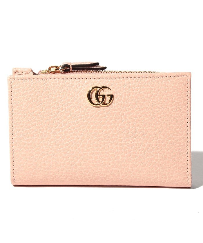 uk availability a5a58 46857 GUCCI】2つ折り財布 / PETITE MARMONT 【PERFECT PINK ...