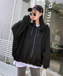 maison de LATIR/韓国スタイルカジュアルジップアップパーカー/501997008