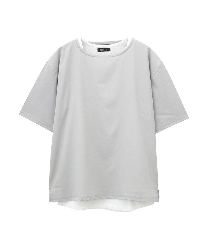 Real Standard ボートネック半袖Tシャツ アンサンブル 93103601