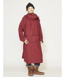 CAYHANE/【チャイハネ】ウール100%縮絨ニットコート チベタンマント/502006387