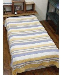 CAYHANE/【チャイハネ】インド綿ボーダー柄ベッドカバー シングルサイズ/502006445