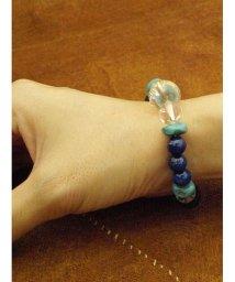 CAYHANE/【チャイハネ】ブルーMIXボンジ天然石数珠ブレス/502006451