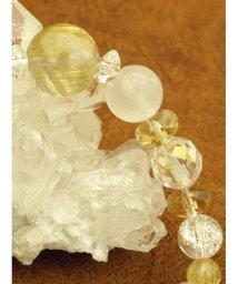 CAYHANE/【チャイハネ】ルチルMIXムーン天然石数珠ブレスレット/502006452