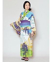 CAYHANE/【チャイハネ】レトロモダン藤の花セパレート浴衣/502007530