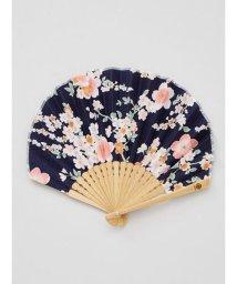 KAYA/【カヤ】舞い桜扇子 袋付き/502007911