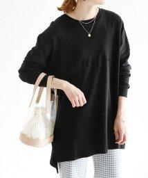 reca/シンプルロング丈Tシャツ/502008450