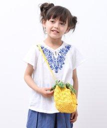 ROPE' PICNIC KIDS/【ROPE' PICNIC KIDS】花柄刺しゅうチュニックシャツ/502008946