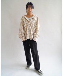 179/WG/フラップポケット付きビッグシャツ/501896288