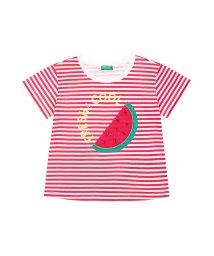 BENETTON (UNITED COLORS OF BENETTON GIRLS)/アップリケスイーツ半袖Tシャツ・カットソー2/501966608