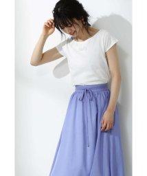 PROPORTION BODY DRESSING/フルッフィーラメプリントTシャツ/502002171
