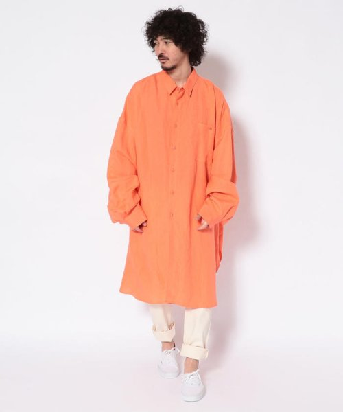 GARDEN(ガーデン)/Whowhat/フーワット/5XL SHIRTS L/S LONG/5XL ロングスリーブシャツ/25019108-85