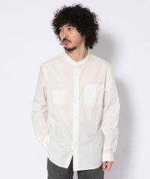 Schott/【直営店限定】BAND COLLAR SHIRT/バンドカラーシャツ/502010493