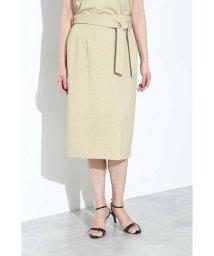 BOSCH/[ウォッシャブル]麻調ジャージースカート/502010759