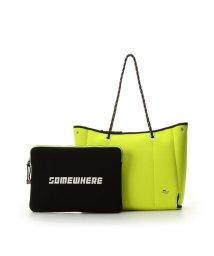 SAMANTHAVEGA/ポーチ付きボンディングトートバッグ L/502010805