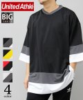 AMS SELECT/【UnitedAthle/ユナイテッドアスレ】4.1オンスドライホッケービッグTシャツ/速乾Tシャツ/502011815