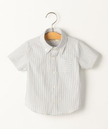 SHIPS KIDS/SHIPS KIDS:クールマックス サッカー ストライプ シャツ(80~90cm)/502012329