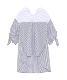 FURFUR/リボンスリーブBIGシャツ/502012510
