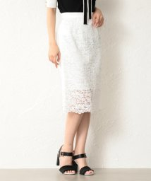 GUILD PRIME/【LOVELESS】WOMEN レースタイトロングスカート/501934016