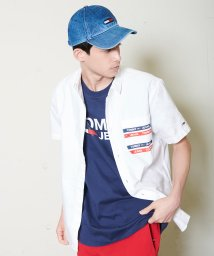 TOMMY JEANS/ショートスリーブポケットシャツ/501993211
