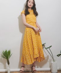 Noela/【Ray7月号掲載】【セットアップ対応商品】スモールフローラルスカート/502004529