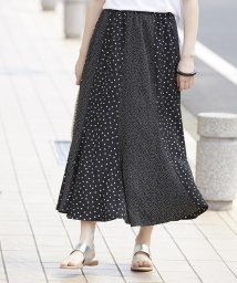 ROPE' mademoiselle/ドットプリントスカート/502012127