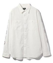 Schott/【直営店限定】EMBROIDERED SHIRT NATIVE AMERICAN/刺繍 シャツ ネイティブアメリカン/502013991