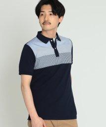 BEAMS MEN/BEAMS / クロス 切替 ポロシャツ/502015820