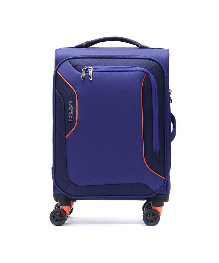 ギャレリア サムソナイト アメリカンツーリスター スーツケース AMERICAN TOURISTER 機内持ち込み 38L DB7−002 ユニセックス ブルー F 【GALLERIA】