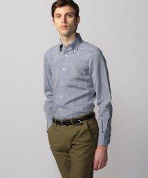 TOMORROWLAND MENS/リネンシャンブレー ワンピースボタンダウン ドレスシャツ ONEPIECE-BD/502016102