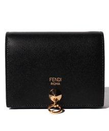FENDI/【FENDI】2つ折り財布/BY THE WAY【NERO+ORO SOFT】/501985757