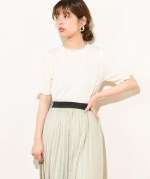 NICE CLAUP OUTLET/【natural couture】メローぽこぽこTシャツ/502012327
