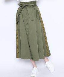LASUD/★【ラディエイト RADIATE】ミリタリーデザイン フレアロングスカート/502014451