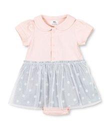 branshes/ドットスカート付き半袖カバーオール(70~80cm)/502014575
