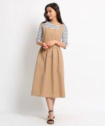 AG by aquagirl/【洗える】グログランジャンパースカート/502018551