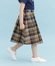 URBAN RESEARCH DOORS(Kids)/【予約】FORK&SPOON コットンリネンチェックスカート(KIDS)/502020195