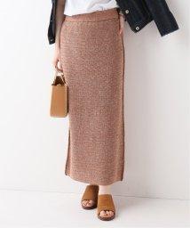 SLOBE IENA/MAISON CHANTOISE BACK SLIT ロングスカート/502020370