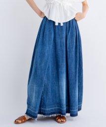 LANVIN en Bleu/デニムロングスカート/501935973