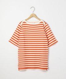 coen/セッケツボーダーボートネックTシャツ/502010926