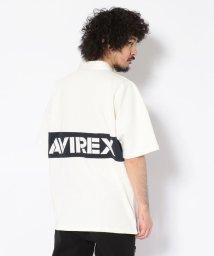 AVIREX/【WEB&DEPOT限定】半袖 ラガーシャツ/RUGGER SHIRT/502020902
